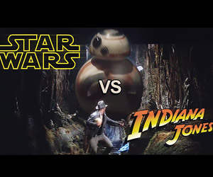 Indiana Jones vs. The Roller Droid