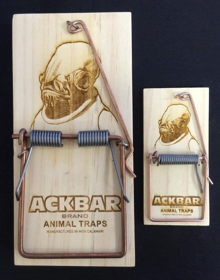 Admiral Ackbar's Mouse Traps