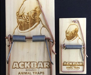 Admiral Ackbar's Mouse Traps