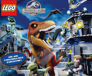 Jurassic World LEGO Sets on the Way