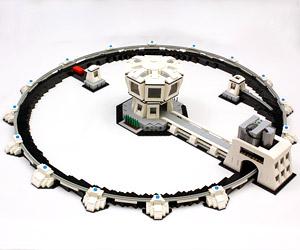 LEGO Particle Accelerator: Higgs Blockson