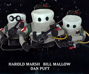 If The Ghostbusters Were Marshmallow Men