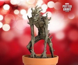 Marvel Potted Groot Statue