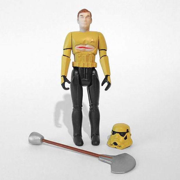 Space Madness Ripped Shirt Kirktrooper