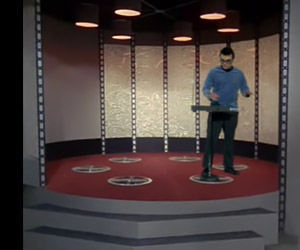 An Oldie But a Goodie: Star Trek Theme on Theremin