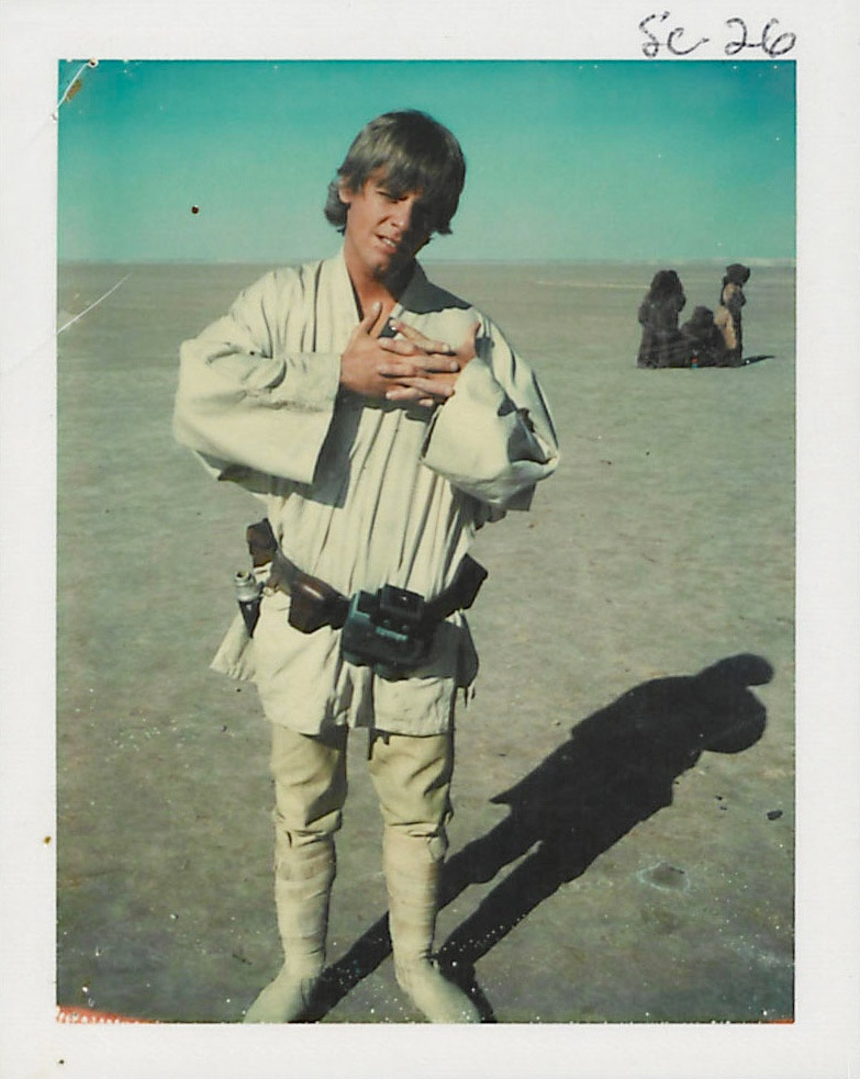 Awesome Candid Photos from Star Wars: Episode IV