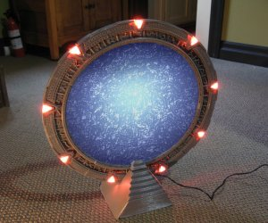 Make Your Own 3D-printed Working Stargate