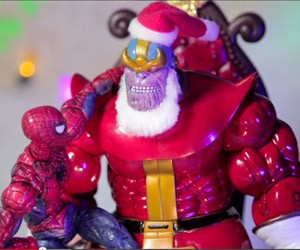 Thanos Is Santa Claus