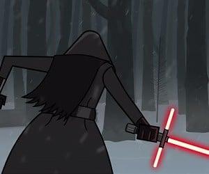 Leaked Lightsaber Scene from Star Wars Episode VII