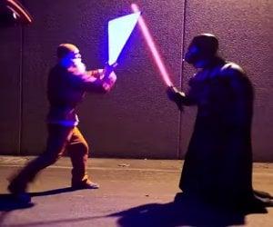 Darth Vader vs. Santa Claus