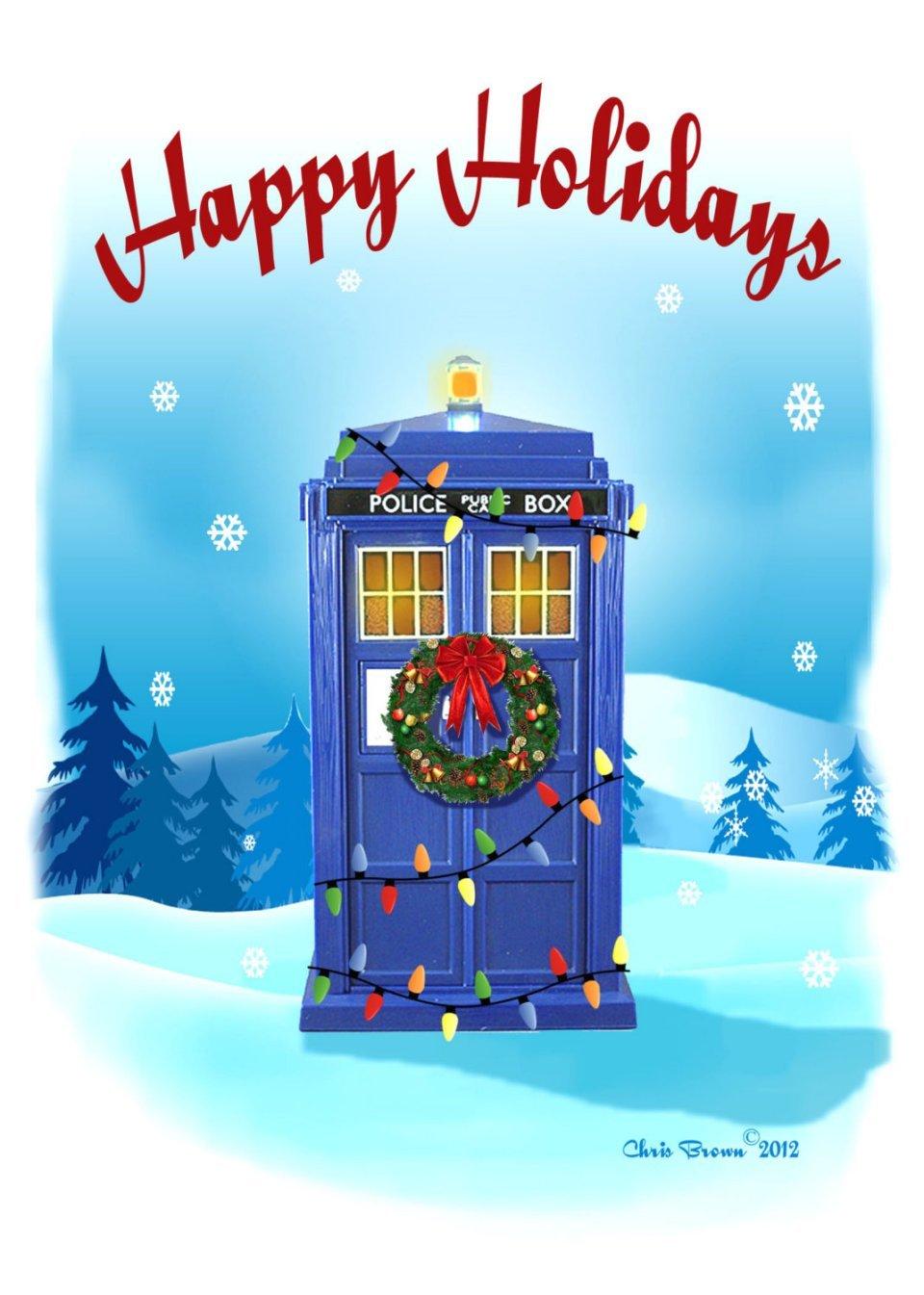 Doctor Who Christmas Cards Mightymega