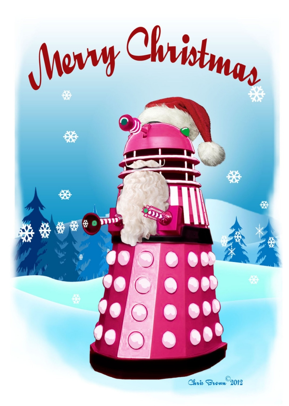 Doctor Who Christmas Cards