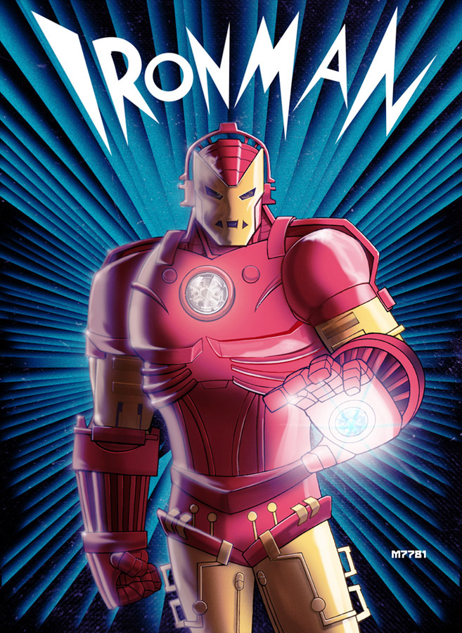 Iron Man Meets Metropolis