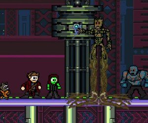 Guardians of the Galaxy: 8-Bit Edition