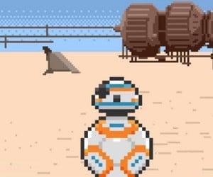 8-Bit Star Wars: The Force Awakens Teaser Trailer