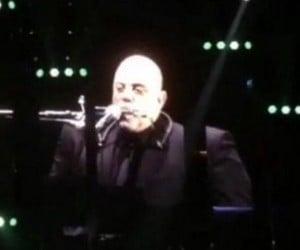 Billy Joel Playing Harmonica Looks Like Darth Vader
