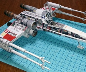 11 Mindblowing Paper Spaceship Replicas