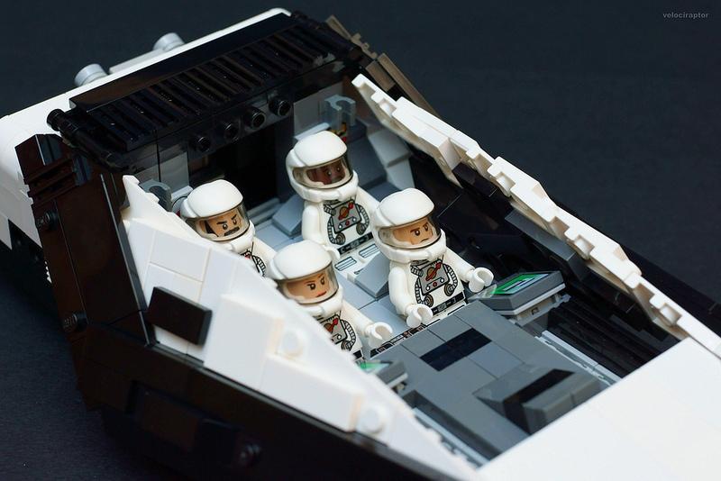 LEGO Interstellar Ship with Minifigs - MightyMega
