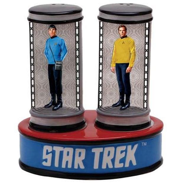 Star Trek Transporter Salt and Pepper Shakers