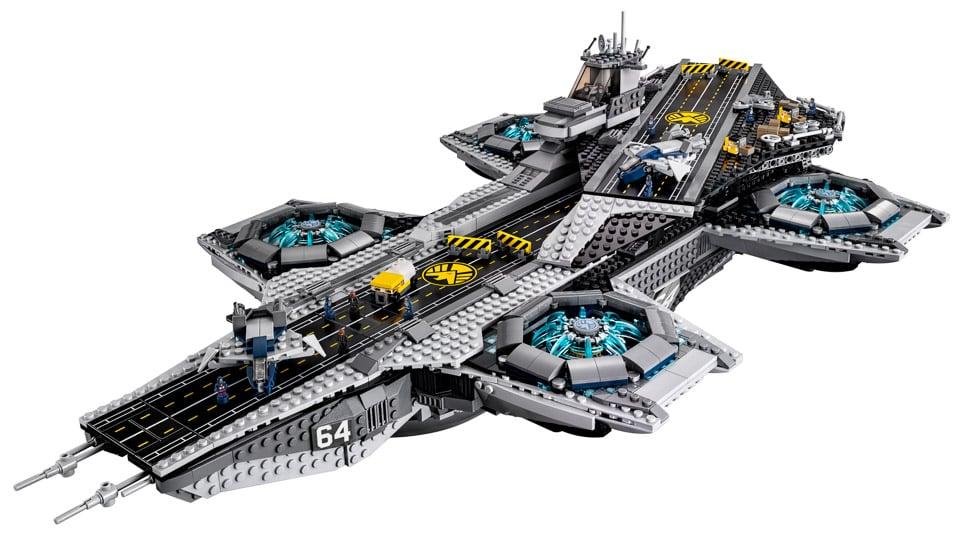 LEGO outs Official Avengers S.H.I.E.L.D. Helicarrier Set
