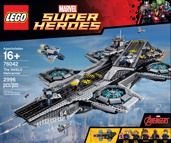 LEGO outs Official Avengers S.H.I.E.L.D. Helicarrier Set