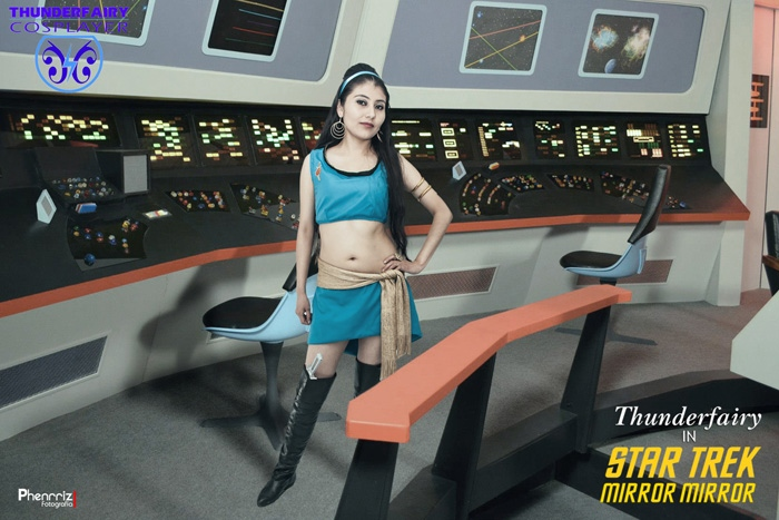 Mirror Mirror Star Trek TOS Cosplay