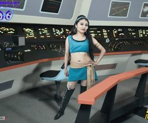Mirror Mirror Star Trek TOS Cosplay