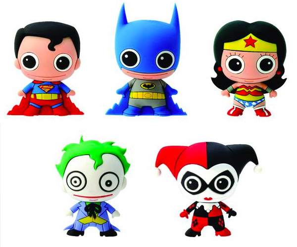 DC Comics Figural Key Chains