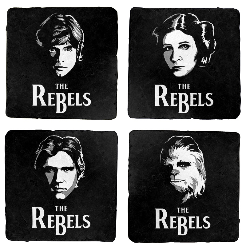 Star Wars The Rebels Coaster Set