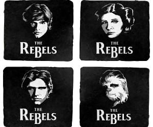 Star Wars The Rebels Coaster Set