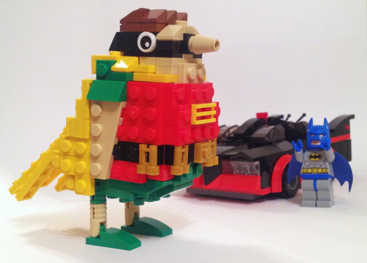 LEGO Batman and Literal Robin