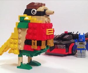 LEGO Batman and Literal Robin