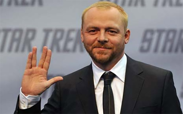 Simon Pegg to Co-write Star Trek 3