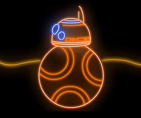 The Force Awakens: Neon Edition