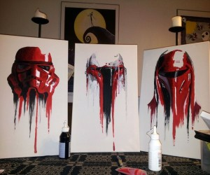 Procrastination Results in Awesome Star Wars Art