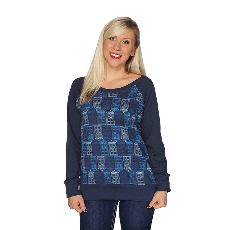 Doctor Who Tessellated TARDIS Pullover