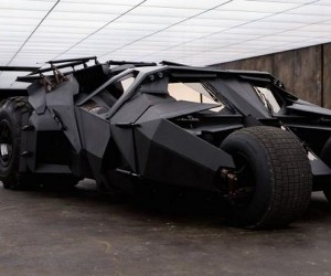 The Clay Model that Inspired Nolan's Batmobile Tumbler