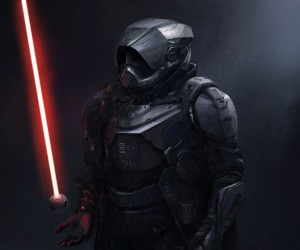 Awesome Darth Vader Concept Art