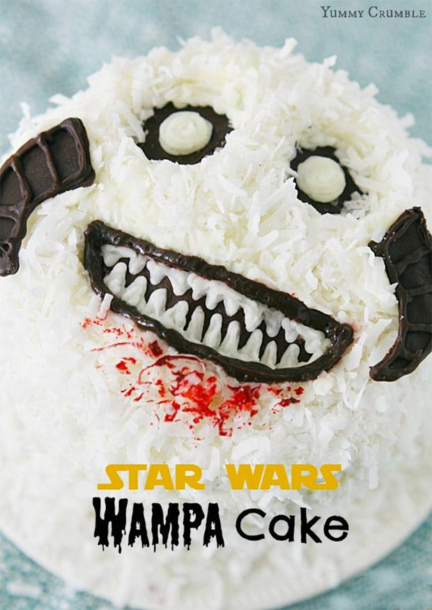 Wampa Cake Looks Wampalicious