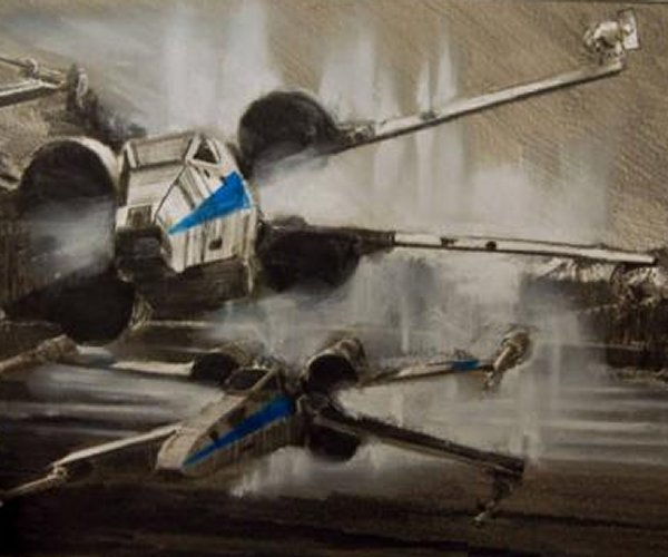 Official X-Wing Art for Star Wars: The Force Awakens