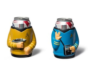 Star Trek Kirk and Spock Drink Coolers