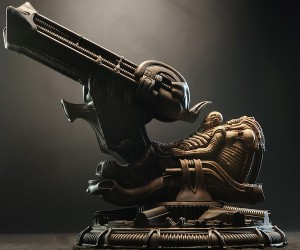 Alien Space Jockey Maquette