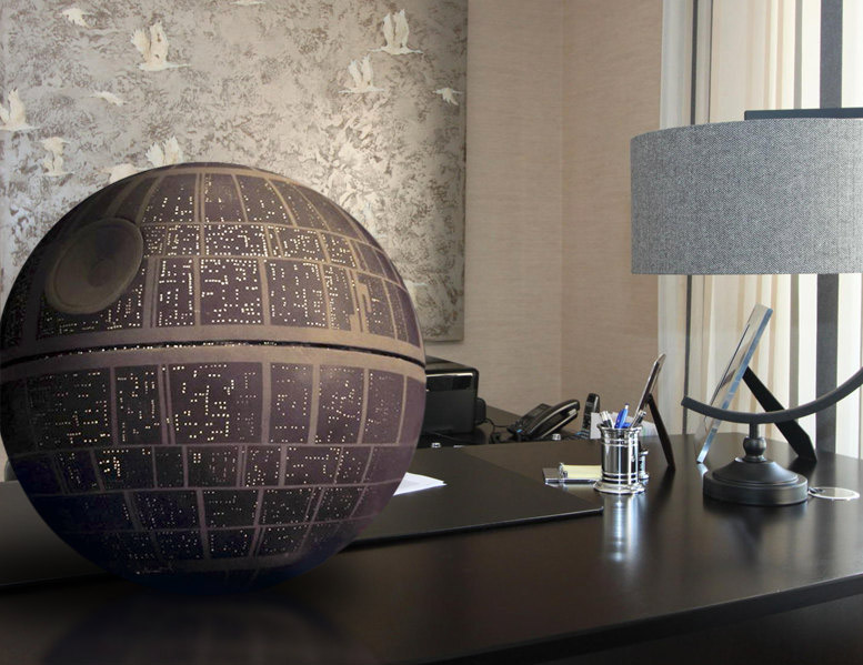 Desktop Death Star Replica