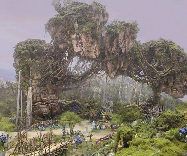 James Cameron Checks out Disney's AVATAR Attraction