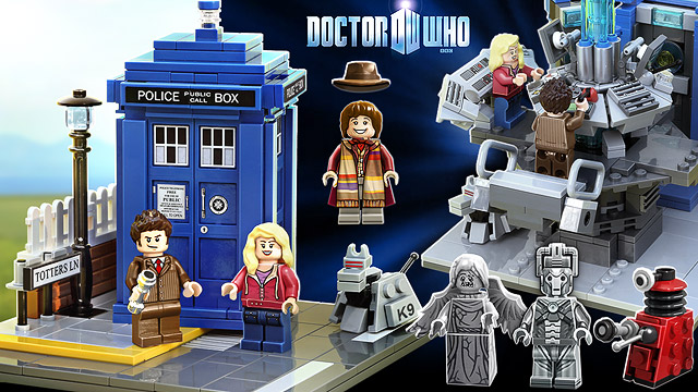 LEGO Announces Doctor Who Set in the Works