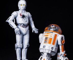 R3-A2 and K-3PO ARTFX+ Statues from Kotobukiya