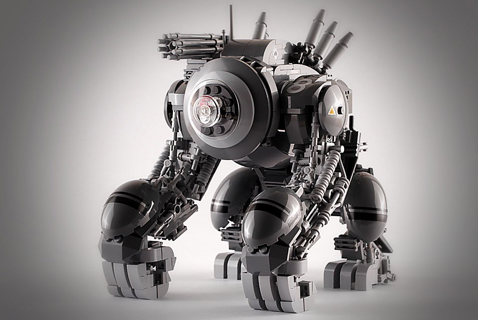 LEGO Gorilla Mech Needs Your Support