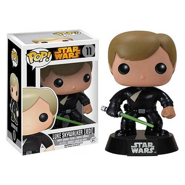 Jedi Luke Skywalker Funko Pop! Vinyl Bobble Head