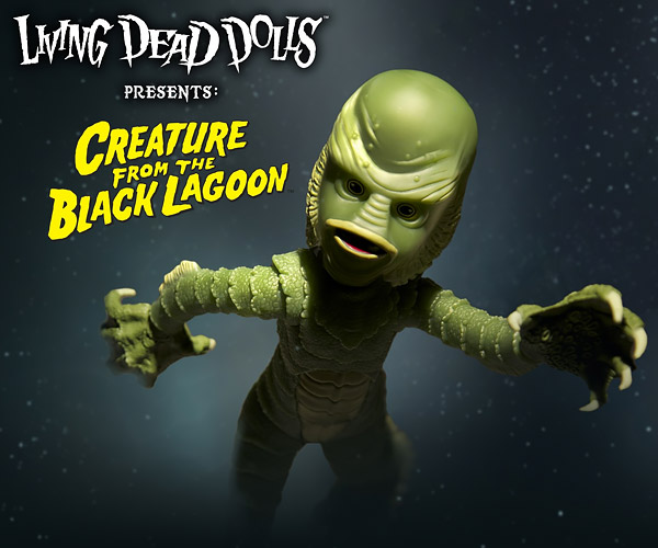Living Dead Dolls Creature from The Black Lagoon