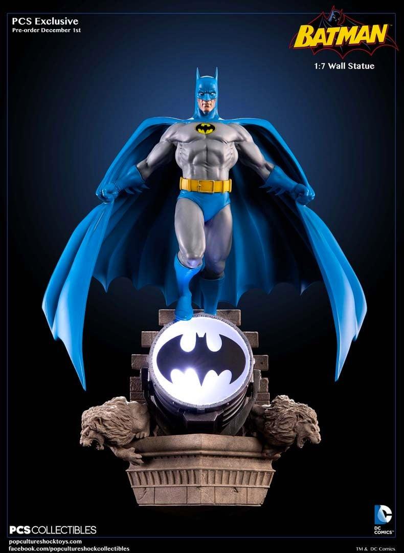 PCS '70s Style Batman Wall Statue